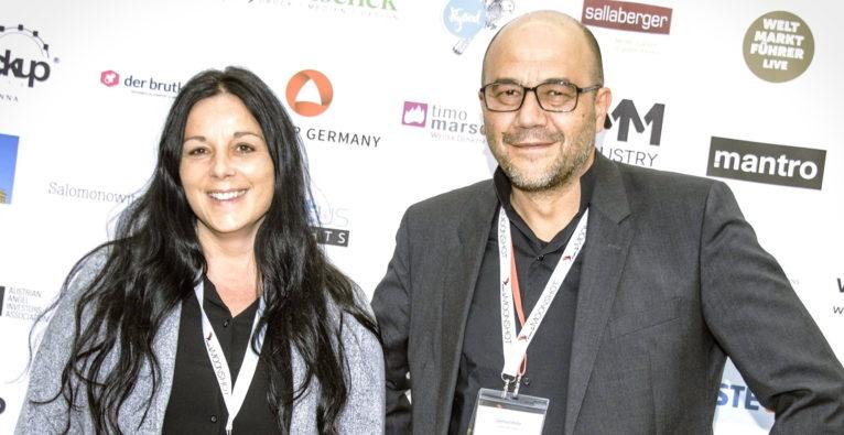 Moonpunks: Elvira Pöschko und Gerhard Hofer stehen hinter Sciconomy