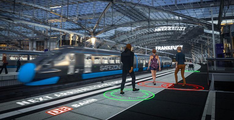 Safezoone: So könnte das Konzept im öffentliche Raum eingesetzt werden