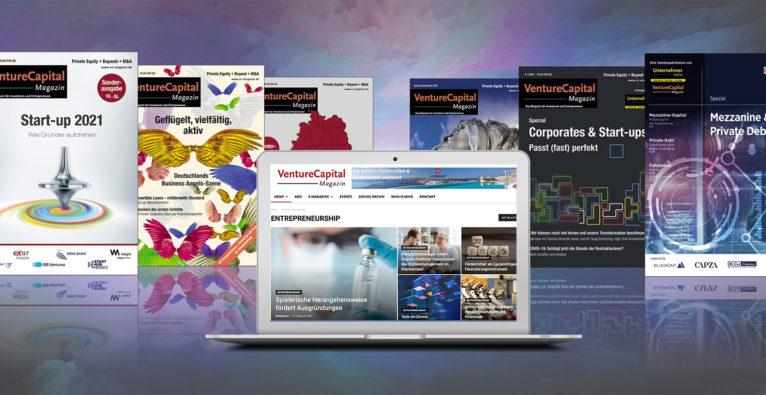 Der brutkasten übernimmt das VentureCapital Magazin in Deutschland © brutkasten Media