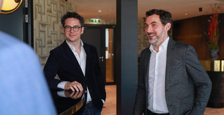 Philipp Maderthaner und Alexander Zauner von Business Gladiators Consulting © brutkasten Media