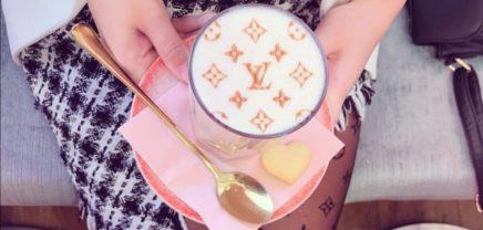 Colorful coffee