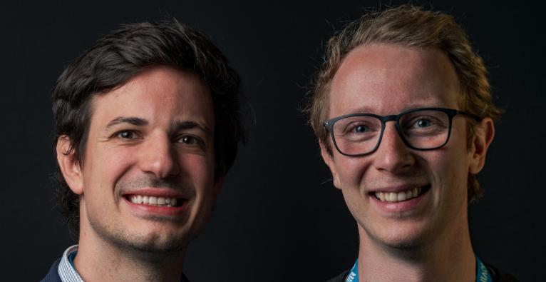 Stefan Lederer und Christopher Müller haben Bitmovin gegründet.