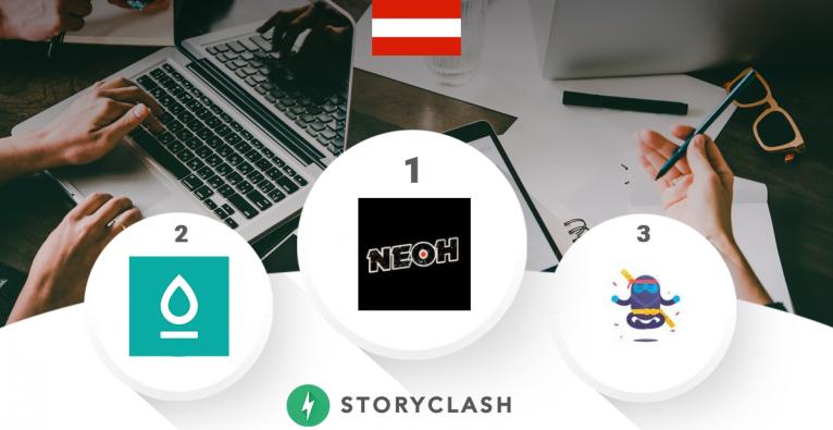 Gemeinsam mit Storyclash präsentiert der brutkasten das monatliche Social Media Ranking österreichischer Startups.
