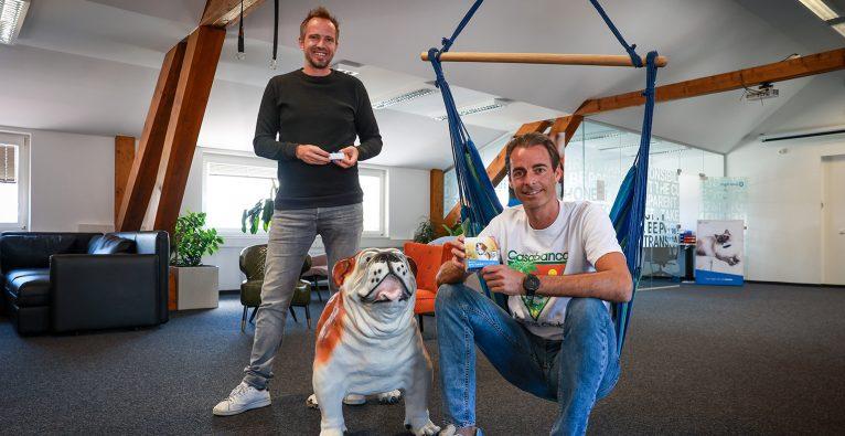 Michael Hurnaus und Wolfgang Reisinger von Tractive © brutkasten/schauer-burkart