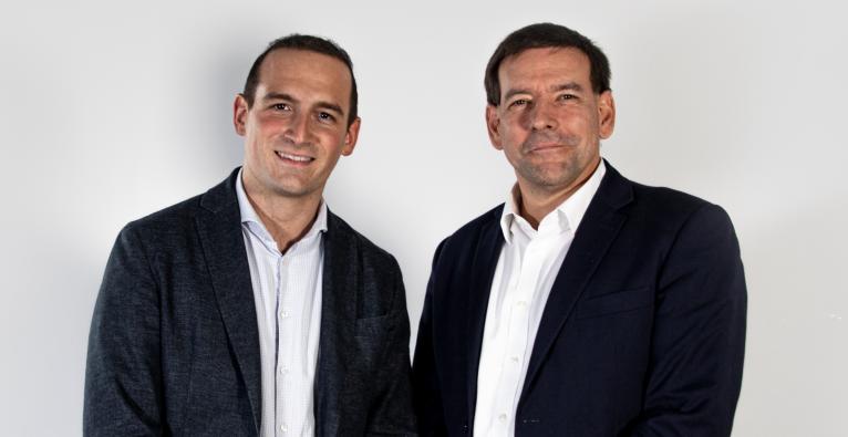 Die beiden Cofounder Patrick Fischer und Martin Melkowitsch