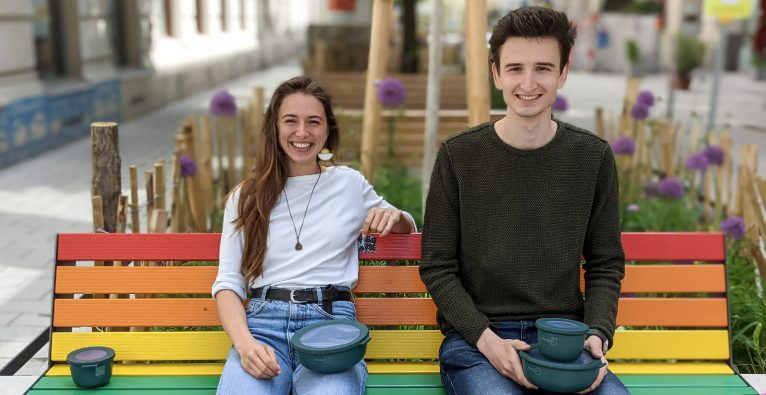 HeroBox: Das Gründer-Duo Alexandra Brandl und Jakob Buchmayer