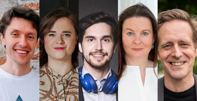 Geteilte Meinung zur fiktiven Eigenkapitalverzinsung (vlnr.): Markus Raunig, Lisa Fassl, Kambis Kohansal Vajargah, Karin Doppelbauer, Jan Krainer