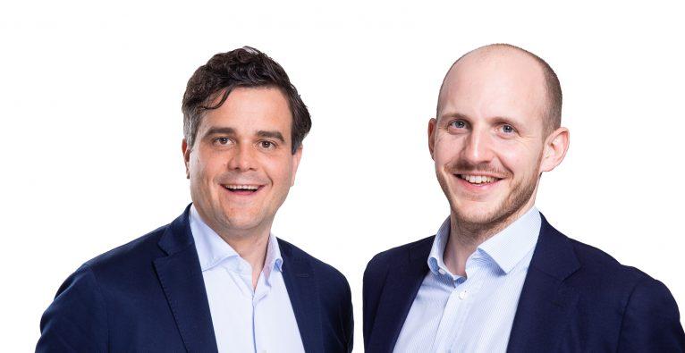 Die Enery-Gründer Richard König und Lukas Nemec