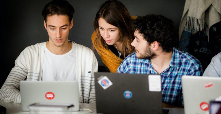 Programmieren, Code, Coding, Startup, Team