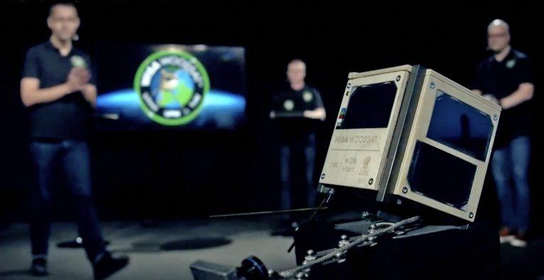 Wisa Woodsat, Holz-Satellit, Holz Satellit, Satellit aus Holz, Arctic Astronautics,
