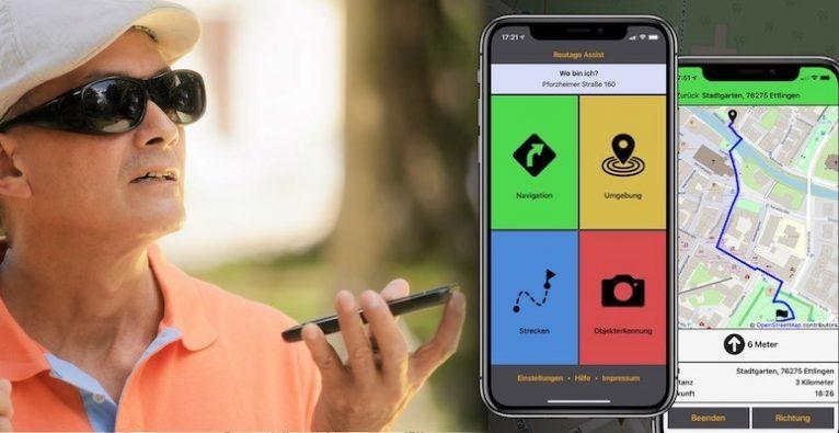 Routago, Blinde, Verkehrssicherheit, sehbehindert, Navi, Navigation für Blinde, Navigation