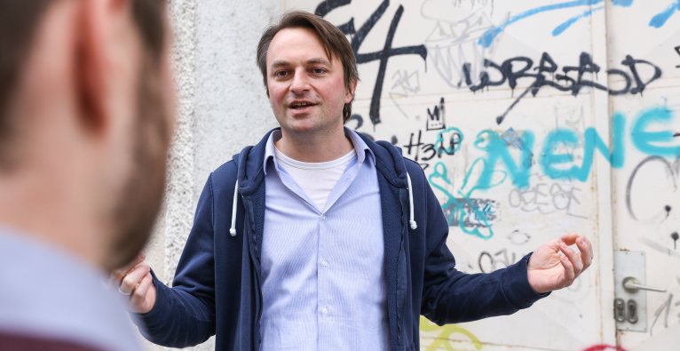 Morpher-CEO Martin Fröhler