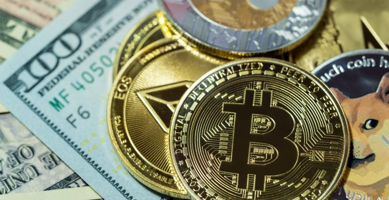 Bitcoin Ethereum Dogecoin