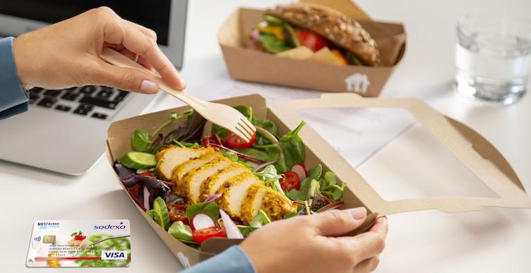 Die perfekte Mittagspause gelingt mit Sodexo und Lieferando © Sodexo/Lieferando