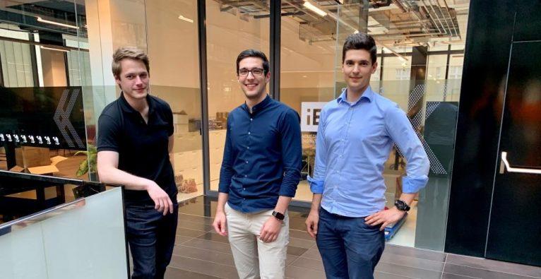 Das Kalibri-Kernteam Joachim Kornauth, Marius Priestersberger und Sebastian Priestersberger