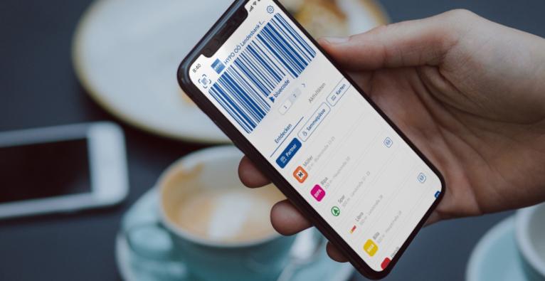 Bluecode ermöglicht Zahlungen über das Smartphone.