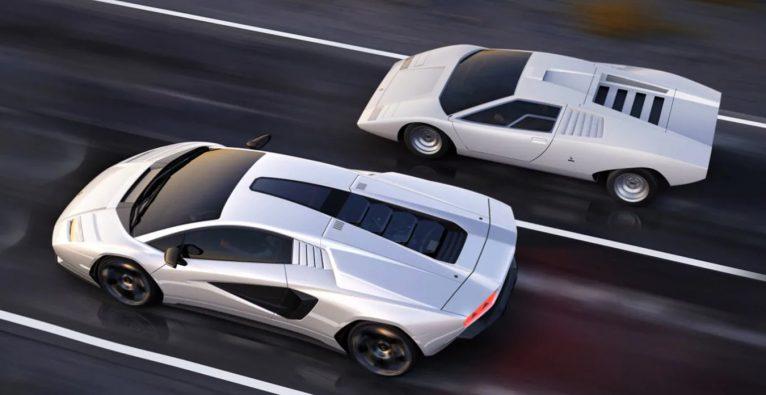 Lamborghini: Der neue und der alte Countach nebeneinander