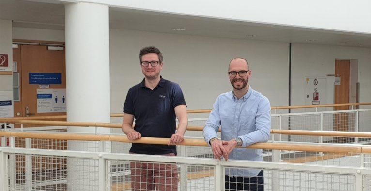Die beiden Cutanos-Gründer Christoph Rademacher und Robert Wawrzinek | (c) M. Denis
