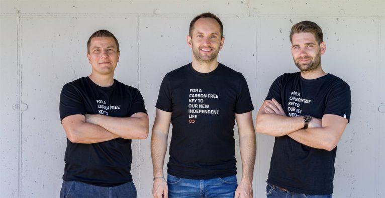 Team neoom: Roman Diesenreiter COO, Walter Kreisel CEO, Gründer & GF, Philipp Lobnig CFO & GF © neoom