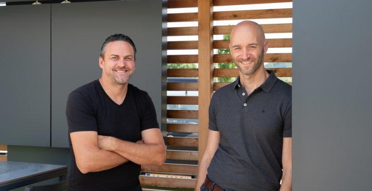 labelhair-Co-Founder Christian Gsellmann und Niceshops-Geschäftsführer Christoph Schreiner