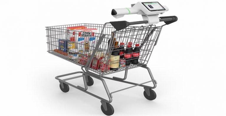 Aldi, Shopic, smarter Einkaufswagen, smartes Einkaufswagerl, KI Wagen, EInkaufen ohne Scannen, Aldi, Hofer, Aldi Süd,