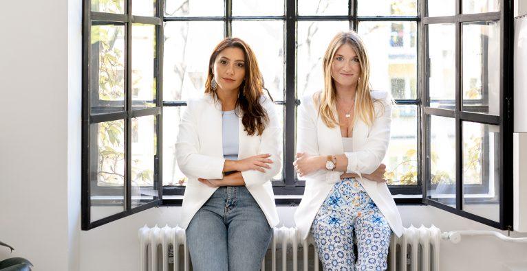 Tanja Sternbauer und Mahdis Gharaei haben the female factor gegründet © GoldenHour Pictures