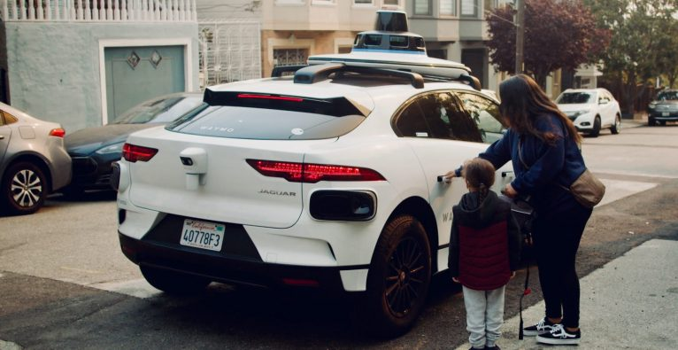 Waymo: Der autonome Jaguar iPace im Einsatz in San Francisco