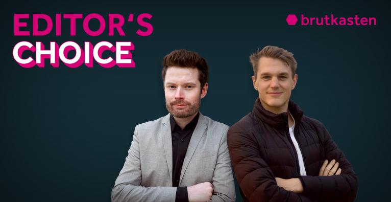 Fizz-Cofounder Moritz Pail (rechts) ist zu Gast im Podcast bei brutkasten-Finance-Chefredakteur Dominik Meisinger