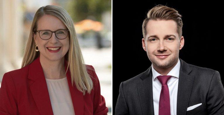 Margarete Schramboeck und Rainer Will
