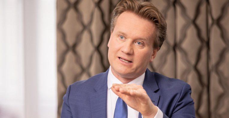 IV-Präsident Georg Knill