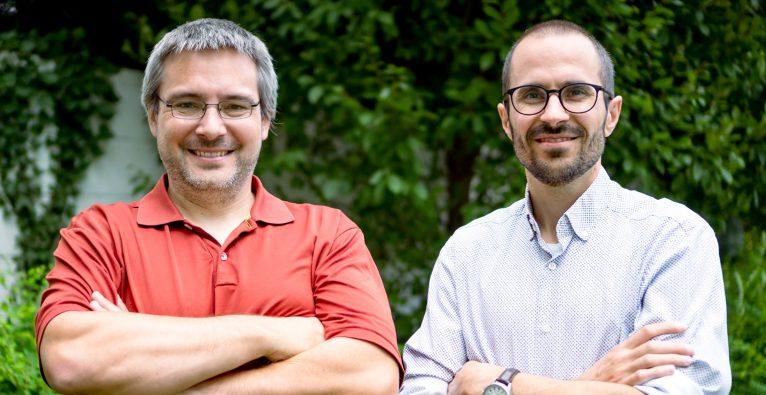 Peter Arnold und Richard Pichler (v.l.) haben EnterAnGo gegründet © EnterAnGo