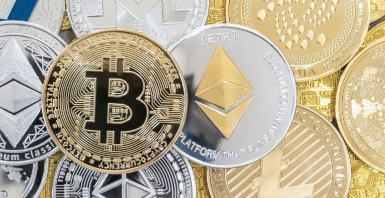 Bitcon, Ethereum, Cardano