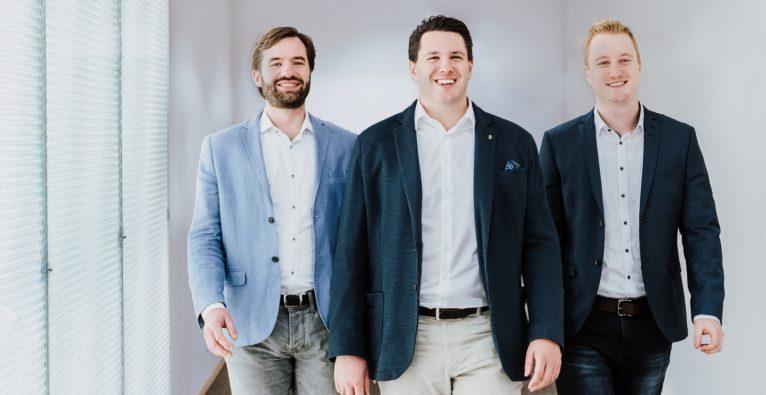 vlnr.: Georg Sorst, Matthias Heimbeck, Simon Reichel | (c) Findologic