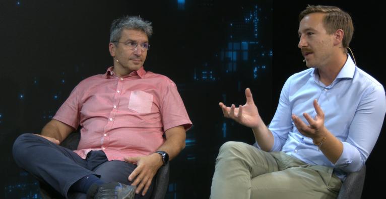 Jollydays-Gründer Georg Schmiedl (links) und CEO Vid Matic