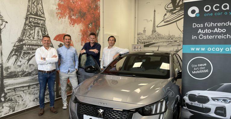 ocay Autoabo: Da Gründer-Team