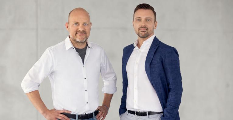 CEO Stephan Stricker und Österreich-Chef Barna Bokor von Pair Finance