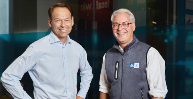UNIQA-CEO Andreas Brandstetter und UNIQA-Ventures-CEO Andreas Nemeth