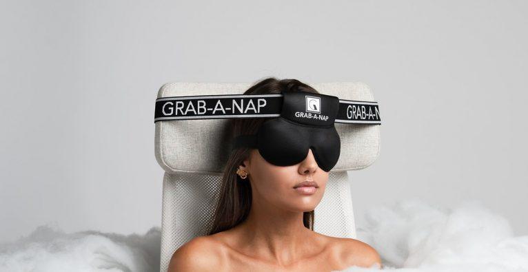 Schlafmaske, Schlaf, Entspannung, Reisen, Erholung, Nackenschmerzen