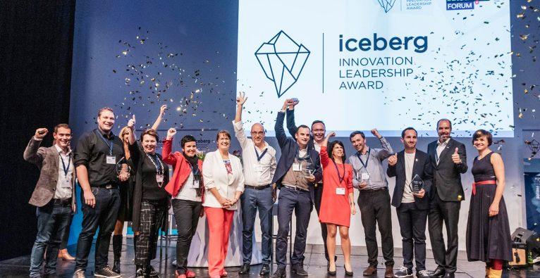 Am Abend wird im Rahmen des Austria Innovation Forums der Iceberg Innovation Leadership Award verliehen © Succus