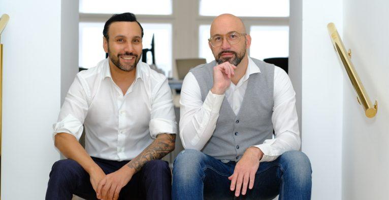 Die Campagion-Gründer Günter Fischer und Johannes Smeh setzen für ihre Kunden Werbung auf Pornhub und Co. um