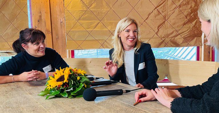 Katja Ruhnke und Conny Hörl investieren mit CK Venture Capital in Startups © brutkasten/bittner