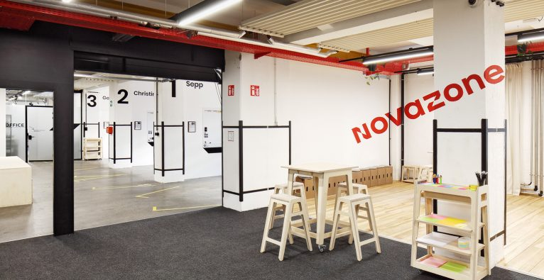 Die Nova Zone in der Grand Garage © Gregor Graf