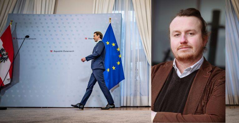 Sebastian Kurz bei einem Termin im Bundeskanzleramt