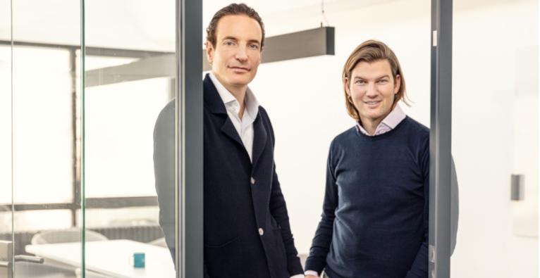 N26-Cofounder Maximilian Tayenthal und Valentin Stalf
