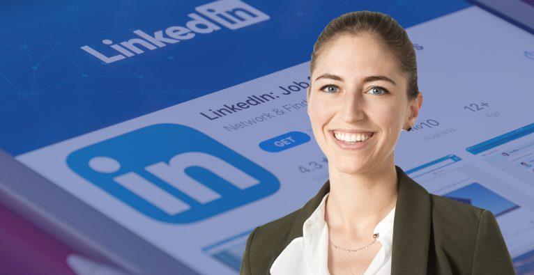 Jennifer Gnant von Otago ist Expertin in LinkedIn Marketing © Philipp Schönauer/Unsplash/Montage: brutkasten